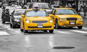 Taxis jaunes à New York