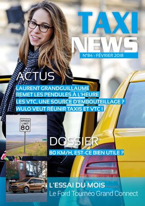 magazine taxi news de février 2018
