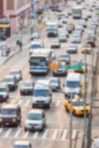 circulation dans les rues de new-yorkais