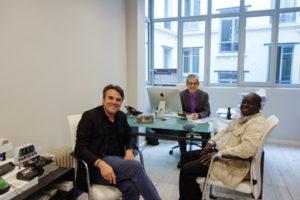 Thomas Thévenoud présente son livre à TAXI News