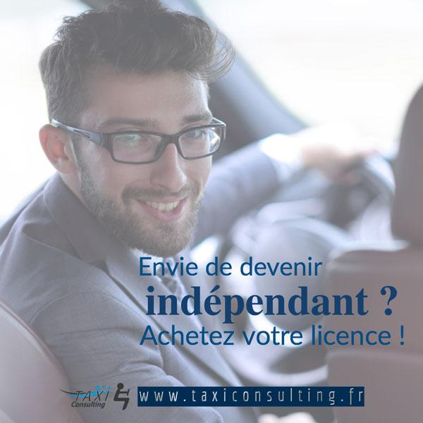 Acheter une licence de taxi