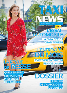 magazine taxi news du mois d'avril