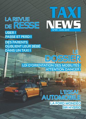 magazine taxi news de juin 2019