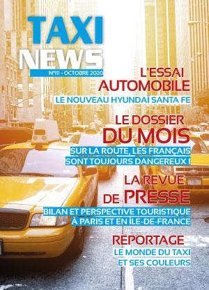 couverture du magazine taxis jaunes