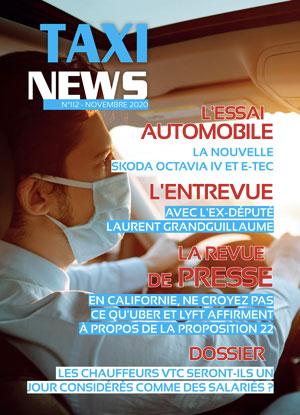 magazine taxi news novembre 2020