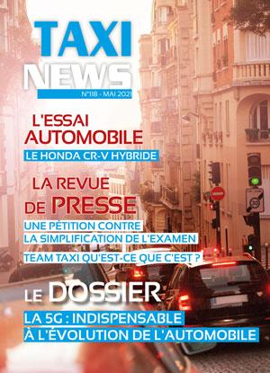 magazine taxi news de mai 2021