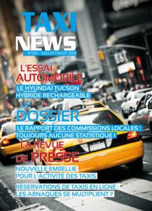 Magazine Taxi News de juillet 2021
