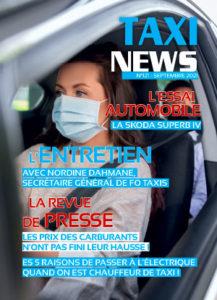 Magazine Taxi News de septembre 2021