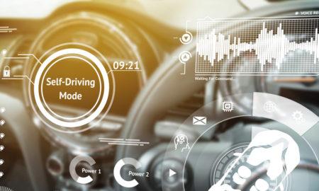 tableau de bord digital pour voiture autonome