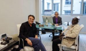 Thomas Thévenoud en visite chez Taxi Consulting